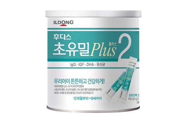 Sữa Non ILDONG số 2 Hàn Quốc lon 100 thanh/1g (trẻ 1-9 tuổi)