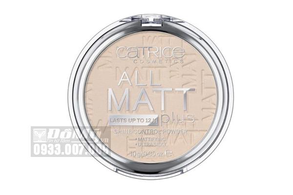 Phấn Phủ Nén CATRICE All Matt Plus Shine Control Powder 10g - Đức