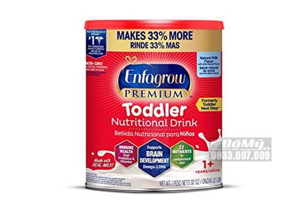 Sữa Enfagrow Premium Non – GMO Toddler Next Step hộp 907g dành cho trẻ từ 1 đến 3 tuổi