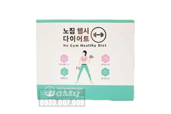 Viên Uống Giảm Cân Genie No Gym Healthy Diet Hàn Quốc 60 viên