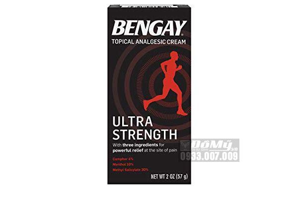 Kem xoa bóp BENGAY Ultra Strength 57g của Mỹ