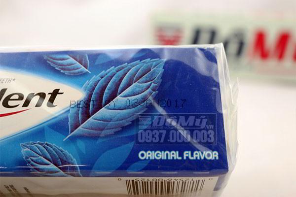 Kẹo singum Trident Original Flavor của Mỹ hương bạc hà loại 14 vỉ