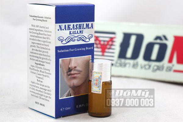 Thuốc Mọc Râu NaKaShiMa chính hãng – Nhật Bản