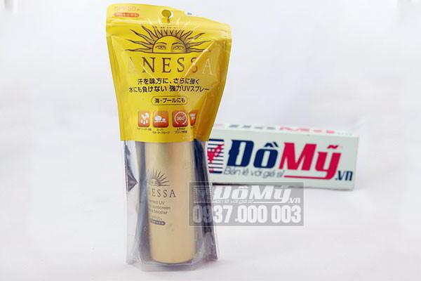 Chống nắng dạng xịt Anessa Perfect UV Spray Sunscreen Aqua Booster 60g của Nhật Bản