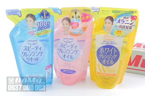 Dầu tẩy trang Kose Softymo Speedy Cleansing 200ml của Nhật