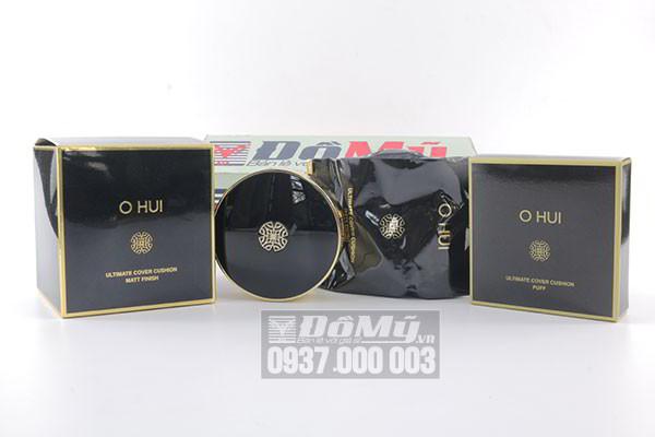 Phấn nước Ohui Ultimate Cover Cushion Matt Finish 2017 dành cho da dầu 15g của Hàn Quốc