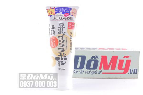 Sữa rửa mặt chiết xuất đậu nành Sana 150g của Nhật