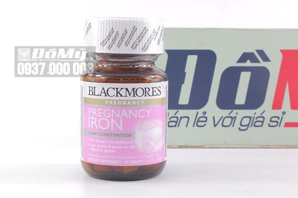 Viên uống bổ sung sắt cho bà bầu Blackmores Pregnancy Iron 30 viên của Úc