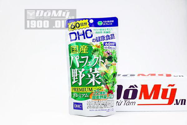 Viên uống DHC bổ sung rau củ quả