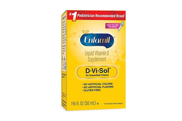 Thuốc bổ sung vitamin D cho trẻ em Enfamil D-Vi-Sol 50ml