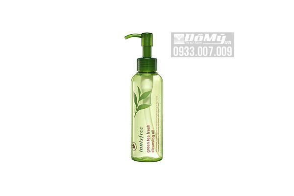 Dầu tẩy trang Innisfree Green Tea Fresh Cleansing Oil 150 ml của Hàn Quốc