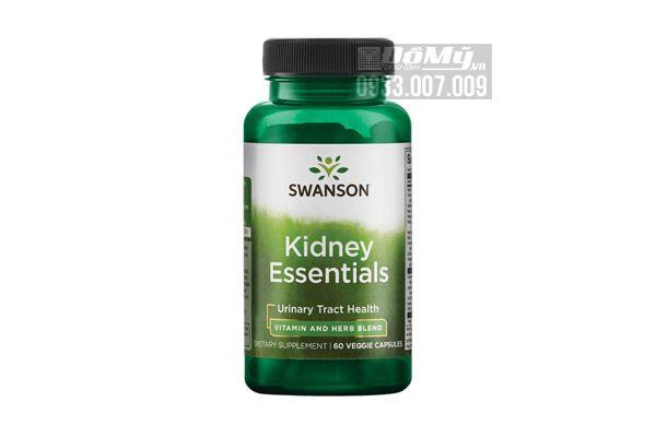 Viên uống bổ thận Swanson Condition Specific Formulas – Kidney Essential 60 viên của Mỹ