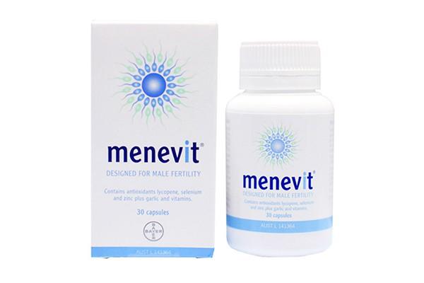Viên uống hỗ trợ sinh sản dành cho nam giới Menevit 30 viên của Úc