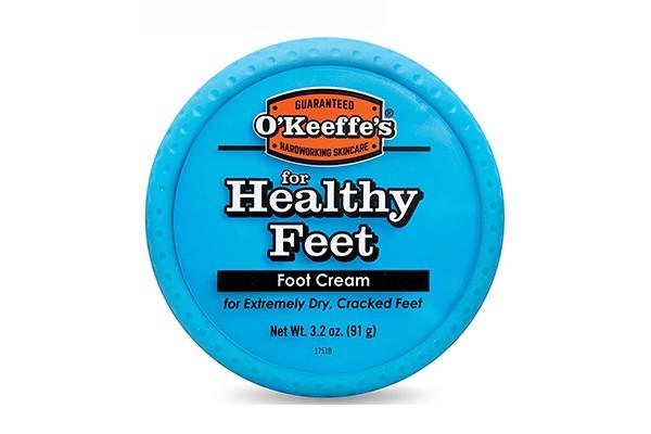Kem bôi chân O'keeffe's Healthy Foot Cream điều trị da khô, chai sần, nứt nẻ của Mỹ