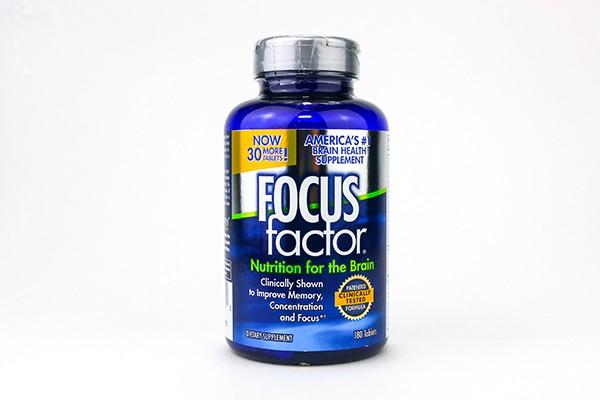 Tăng cường trí nhớ, giảm stress Focus Factor 180 viên của Mỹ
