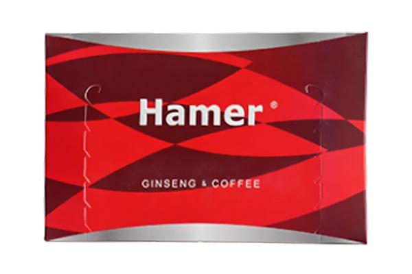 Kẹo sâm Hamer Ginseng Coffee Candy 30 viên