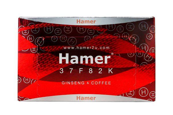 Kẹo sâm Hamer Ginseng Coffee Candy 30 viên (hoa văn)