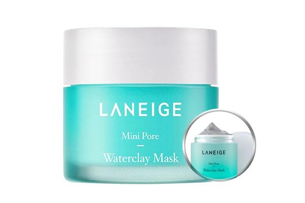 Mặt nạ đất sét dưỡng ẩm và se khít lỗ chân lông Laneige Mini Pore Water Clay Mask 70g