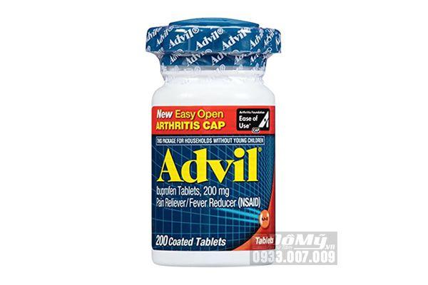 Viên uống giảm đau Advil viên nén 200mg 200 viên - Mỹ