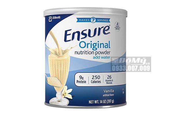 Sữa bột Ensure ® Powder 397g (14oz) - Abbott Hoa Kỳ [MẪU MỚI 2020]
