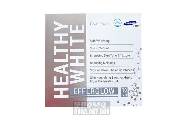 Viên sủi trắng da HEALTHY WHITE EFFERGLOW ( 3 hộp x 10 viên)-Hàn Quốc