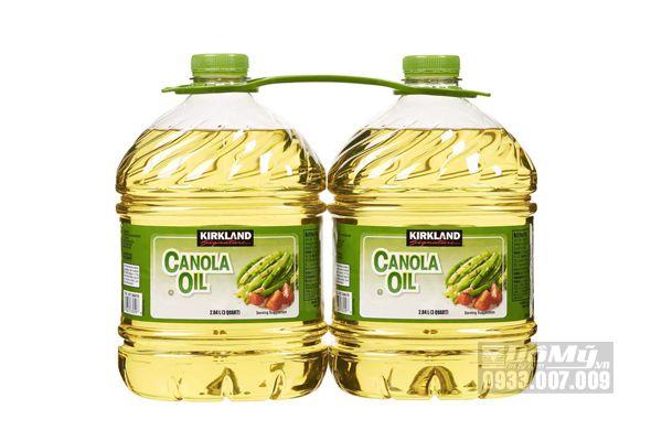 Dầu hạt cải Kirkland Signature Canola Oil 2.84 lít
