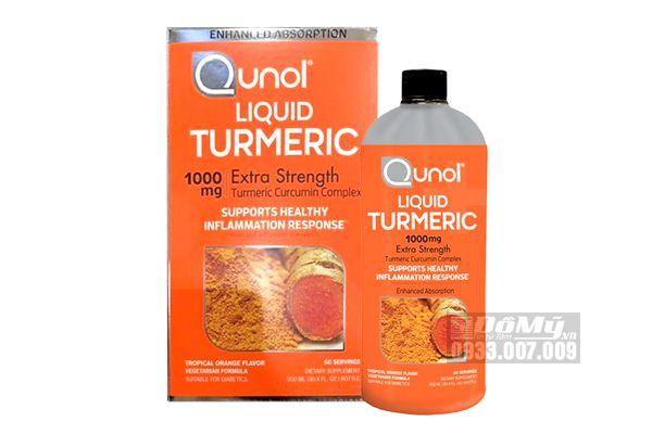 Nước uống tinh chất nghệ tươi Qunol Liquid Turmeric 1000mg-USA