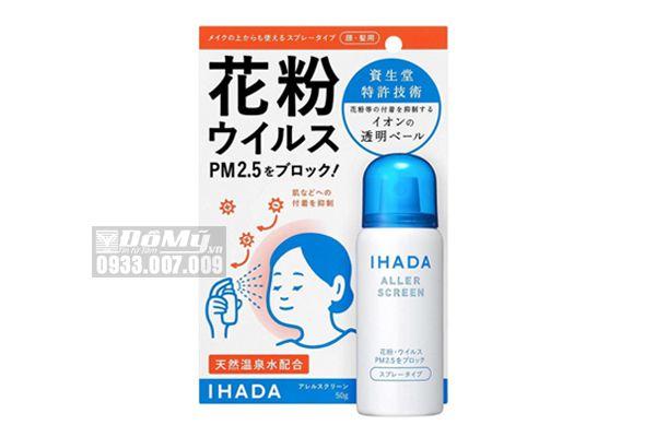 Xịt kháng khuẩn, bụi mịn Ihada PM 2.5 Nhật Bản