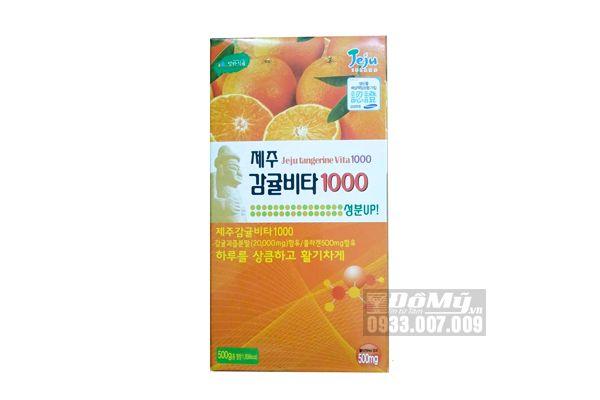 Viên ngậm vitamin C Jeju Orange 500g Hàn Quốc