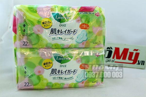 Băng vệ sinh hằng ngày Kao Laurier có cánh 20.5 cm 22 miếng của Nhật Bản