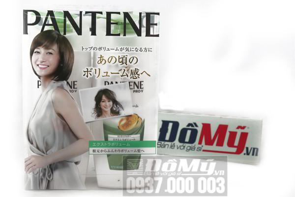 Bộ dầu gội và xả của Nhật Bản Pantene ProV nắp xanh lá loại 500ml