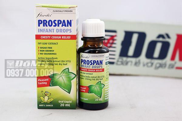 Chai trị ho Flordis Prospan Infant Drops 20ml của Đức