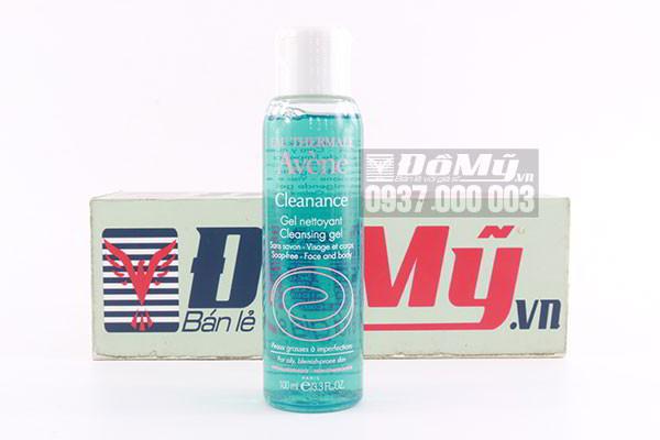 Sữa rửa mặt dành cho da nhờn Eau Thermale Avene Cleanance Cleansing Gel 100ml của Pháp