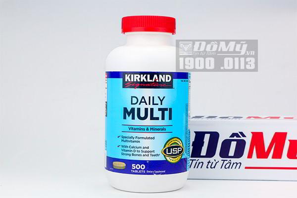 Daily Multi Kirkland - Vitamin hàng ngày cho người dưới 50 tuổi 500 viên