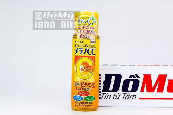 Nước hoa hồng Melano CC Lotion Rohto Nhật 170ml