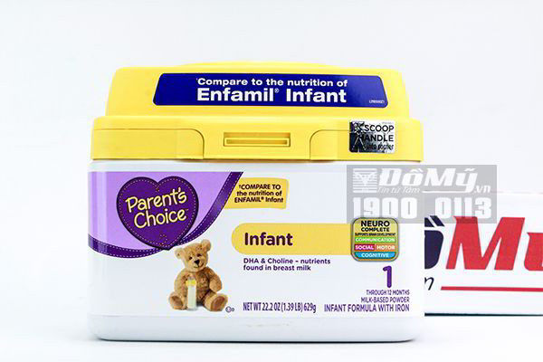 Sữa Enfamil Infant Parent's Choice 629g