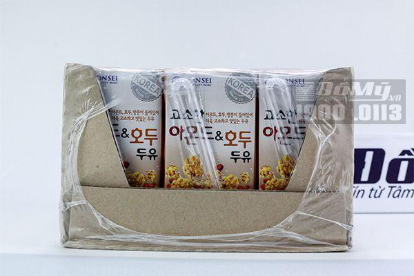 Sữa hạnh nhân óc chó Yonsei 24 hộp