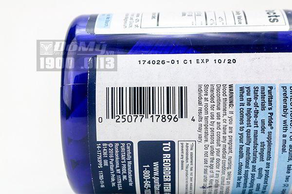 Glucosamin Chondroitin MSM Puritan's Pride 180 viên - Glucosamin Mỹ