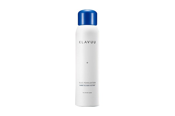 Xịt khoáng Klavuu Blue Pearlsation Marine Collagen Aqua Mist 120ml