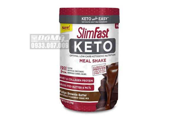 Sữa bột giảm cân SlimFast Keto 379g