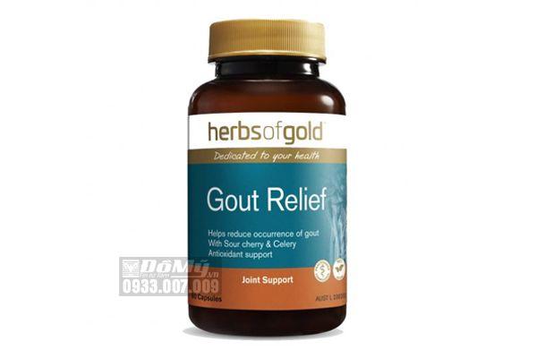 Viên Uống Hỗ Trợ Điều Trị Gút - Gout Relief 60 Viên Của Úc