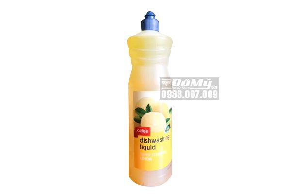 Nước Rửa Chén Coles hương chanh 1L -Úc