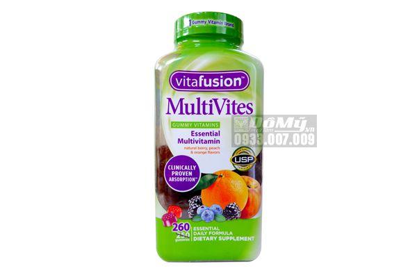Kẹo dẻo Vitafusion MultiVites 260 viên