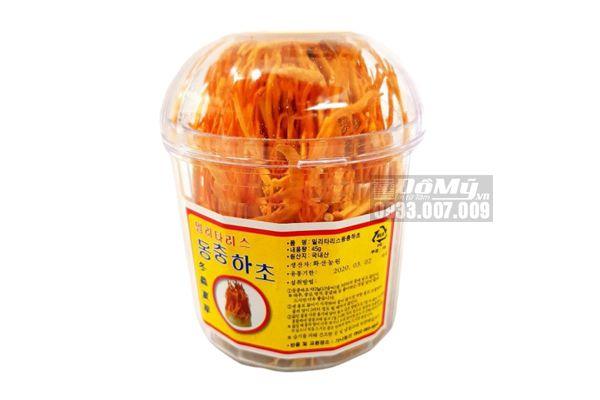 Hoa đông trùng hạ thảo Hàn Quốc lọ 45g