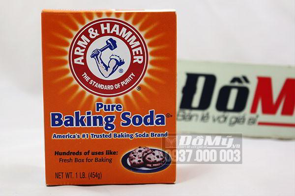 Bột nổi Baking Soda Arm & Hammer của Mỹ loại 454g