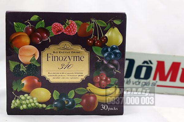 Nước uống giúp làm đẹp da và giảm cân Finozyme 310 hộp 30 gói của Nhật Bản