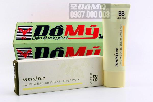 Kem nền Innisfree Long Wear BB Cream SPF30/ PA++ 40ml của Hàn Quốc