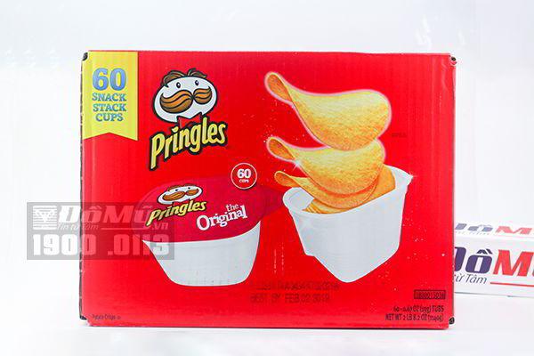 Snack khoai tây vị tự nhiên Pringles Original 60 hộp/ thùng