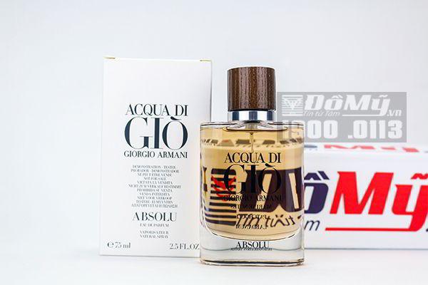 Nước hoa Acqua Di Gio Giorgio Armani Absolu 75ml của Ý
