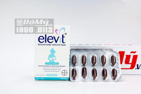 Thuốc bổ Elevit sau sinh 60 viên của Bayer Úc
